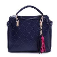 2014 3colors Fine PU leather  fashion tassel bag for spring/summer/autumn/winter