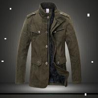 Cocopass winter men's clothing medium-long wadded jacket hunting jacket cotton-padded jacket plus size cotton-padded jacket