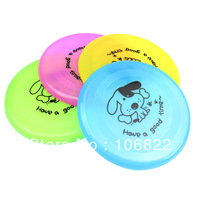 "Large Dog FRISBEE Trainning Puppy TOY Plastic Fetch Flying Disc Frisby 8"" New Free shipping&DropShipping"