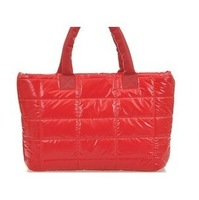 Winter Women down bags 2013 women's handbag cotton-padded jacket bag space bag shoulder bag 20D