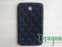 1pcs Star Rhinestone Bling Diamond Soft Silicone Silicon Case Cover For Samsung Galaxy Tab 3 7.0 Tablet P3200 T210 T211