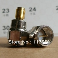 Wholesale 5PCs/lot SMA connector SMA female to F male F connector adapter