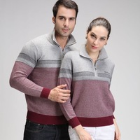 2013 tell lovers zipper cashmere sweater high quality slim sweater outerwear sweater