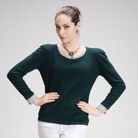 2013 women's baimuer tell o-neck cashmere sweater fashion sweater basic sweater