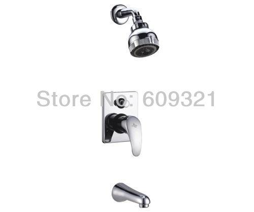 Freeshipping Rain Shower Faucet,Shower Head Set,Faucet Shower,Bath Mixer Tap With Shower,Tap For Bathroom(China (Mainland))