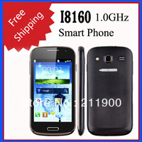 Free shipping Star I8160 4.0 Inch Capacitive Screen Android 2.3 SC6820 1.0GHz WiFi Smart Phone