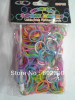 rainbow bands colorful rubber bands diy 600pcs a pack