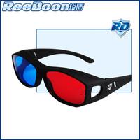 Three-dimensional 3d red and blue glasses tv computer myopia 3d big box