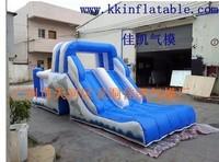 Indoor inflatable trampoline inflatable slide naughty fort commercial slide water slide