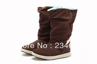 Free shipping! 2014 top quality brand Style Women's Winter Snow Boots Fashion series of short boots,4 color size:36-39
