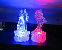 Colorful night light led night light acrylic crystal lovers gift,creative light up toys,wholesale