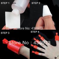 New nail product nail polish remover gel-off Nail art Soakers 5 pcs/bag Free Shipping
