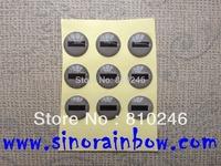 Personalized round custom epoxy stickers printing