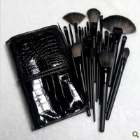 24 makeup brush set brush set make-up make-up brush tool complete professional makeup and pink black