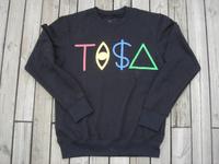 New fashion2014 New Sport style tisa sweatshirt men's and women's long shirt Hip-hop summer and spring Black T-shirts