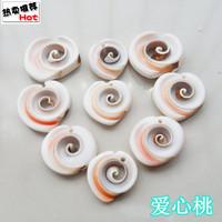 Hole-digging conch shell rustic yangtz derlook fish tank diy decoration love peach