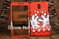 10pcs/lot free shipping High quality Front and rear Double protector Hard Back Case For Samsung Galaxy Note3 N9000