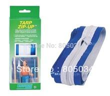 Envío gratis cremallera Tarp Tarp Zip Up Zipper puerta Grow Tent umbral Zip Up