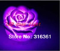 hot selling Romantic led rose light Rose Shape Waterproof LED Light gifts;