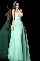 The Most Beautiful Prom Gown Lace And Tulle Green Fashion Prom Dresses