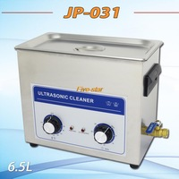 Free shippig 6.5L 180w heat ultrasonic cleaner JP-031 the king of the circuit board ,metal parts cleaning equipment