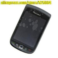 Free shipping home furnishings for BlackBerry 9810 original LCD + touch screen assembly mirror wholesale and retail