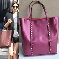 Free/drop shipping ZP24 new fashion brand bag Real Leather shoulder bags women handbag women tote bags