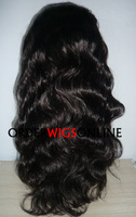 BODY WAVE FULL LACE WIGS IN STOCK  FOR AFRICAN AMERICAN WOMEN 18NCH COLOR 2# FAST FREE SHIPPING