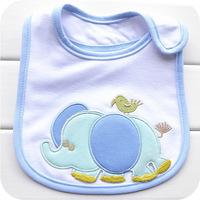 2014 Sale Baberos Babadores Babador free Shipping Carter Three-layer Waterproof Cotton Baby Elephant Saliva Towel/baby Bibs