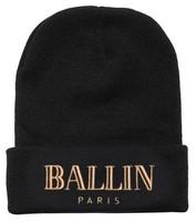 bonnets hats 3 colors new arrivel fashion brand ballin paris beanie hat football skullies wool winter warm knitted caps for man