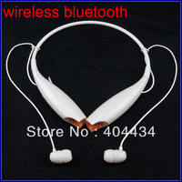 Universal HV-800 wireless Bluetooth Stereo Headset Neckband Style for MP3 Music & Phone Call Two Channel black/white 30pcs/lot