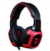Free Shipping Gaming Headphones SA 906 WCG CF vibration 7.1 channel audio headset Professional usb earphones fone de ouvido Gift