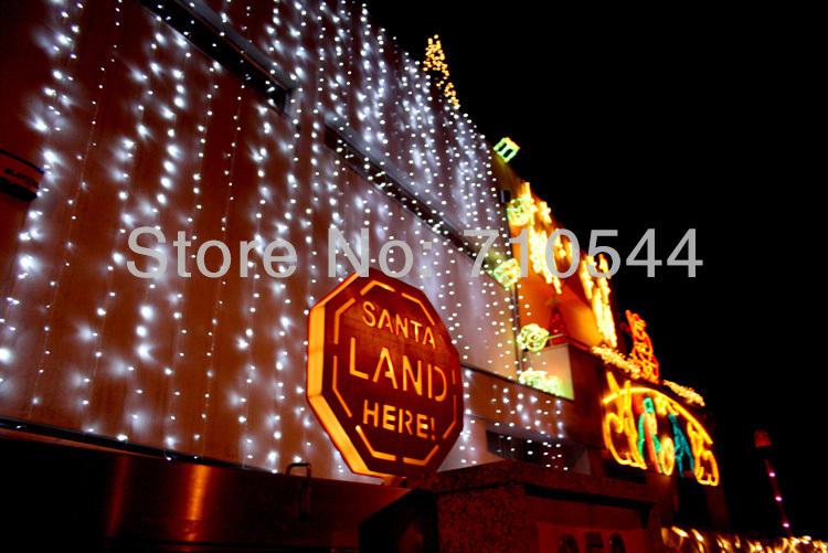 Free Express,10MX4M / 33ft*13ft,1280 Led Curtain light String Christmas Wedding,110V/220V White/Warm White//Green/Blue/color(China (Mainland))