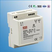 (DR-30-15) 30W 15V DIN Rail power supply AC85-264V 120-370VDC input 15V DC output