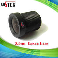 Security camera Lenses 2.5mm Board Lens 120 Degree Wide Angle for CCTV IR Camera