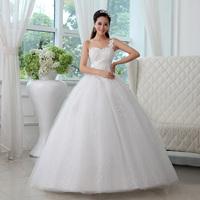 New arrival 2013 one shoulder lace wedding dress vintage princess paragraph wedding dress oblique