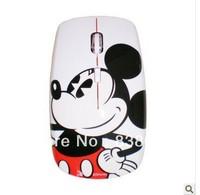 Free shipping   MW2301 Mickey cute fashion slim wireless mouse