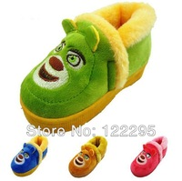 Free shipping 2013 autumn and winter children's cotton-padded shoes / warm cartoon shoes / thick cotton-padded shoes