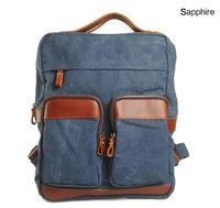 Crazy horse school bag shoulder bags satchel backpack canvas  travel bag school bag