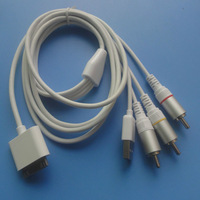 COMPOSITE AV Video Cable for IPAD IPHONE 4 and IPOD support ios 7.0