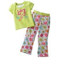 Brand new Cartoon Pattern Baby Pajamas,boys and Kids underwear, children's Pajamas Suits, girls short sleeve sets Retail 2T-5T