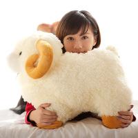 Cartoon lambling-doll sheep doll bamboo charcoal plush-toy alpaca  birthday gifts free shipping