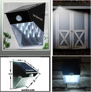 Солнечный светильник для улицы PIR