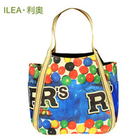 Ilea canvas bag vintage shoulder bag all-match street casual student bag women's handbag bag big bag