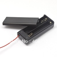with slide cover and switch 2pcs AA/LR06/UM3 battery holder ,DC3V ,wholesale ,fast shipping from stock , 100pcs/lot
