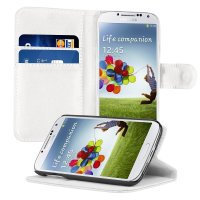 Luxury Wallet Stand Design Leather Case for Samsung Galaxy S4 Mini I9190 PU New Arrival with 2 Card Holder