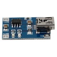1Pcs Brand New Mini USB 1A 1000mA Lithium Battery Charger Module 5V Charging Board(China (Mainland))