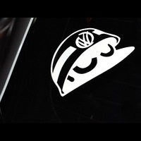 Free Shipping vw volkswagen scirocco golf gti r20 reflective stickers applique,custom made colors & size