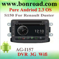 s150 android 2.3 os car dvd player for renault duster