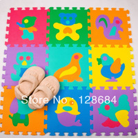 Middlebury toys infant crawling mat classic eva foam animal puzzle mats